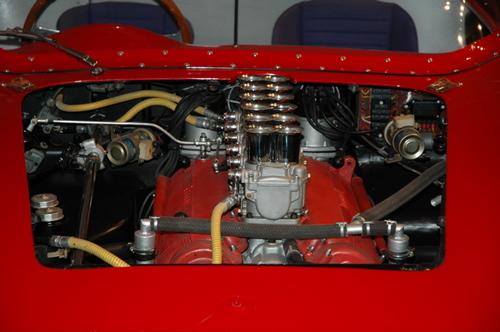 1961 Ferrari 250TR engine